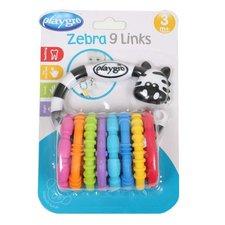 Playgro zebra s kroužky