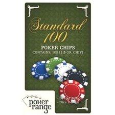 Poker Range Standard 100, 11,5 gr.,