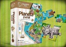 Albi Kouzelné čtení - Puzzle Planeta zvířat