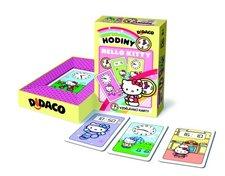 DIDACO vzdělávací karty  Hodiny - HELLO KITTY