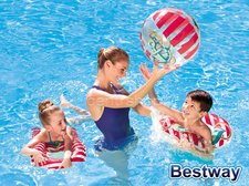Bestway Nafukovací set námořník - kruh, míč, matrace