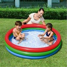 Nafukovací bazén 3 barevný 152 x 30 cm