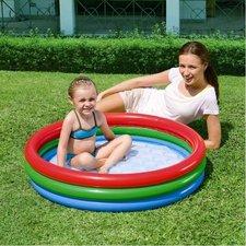 Nafukovací bazén 3 barevný 102 x 25 cm
