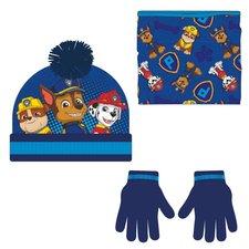 Zimní set-čepice, nákrčník, rukavice Cars