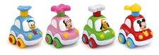 Clementoni Displ. 18ks - Disney Press & Go autíčko , min. odběr 18 ks
