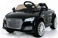 Dimix Elektrické sportovní auto CY815 černé -  2 motory, R/C 2,4Ghz, Eva kola
