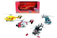 Vrtulník AirRescue, více druhů