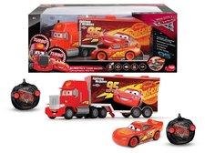 Dickie RC Turbo Cars 3 Mack Truck a Blesk McQueen 1:24
