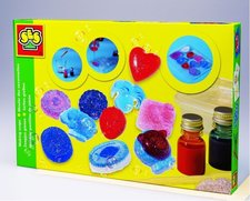 Výroba barevných mýdel
