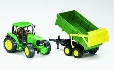 BRUDER 2058 Traktor JOHN DEERE 6920 se sklápěcím valníkem