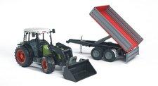 Bruder - Traktor CLAAS Nectis + čelní nakladač a sklápěcí vůz