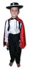 Kostým na karneval Zorro