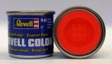 Barva Červená-svítící polomat.