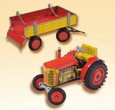 Kovap Traktor ZETOR s valníkem na klíček