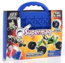 Supermag auta kufřík 105 dílků