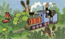 Puzzle - Krtek a lokomotiva