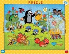 Puzzle Krtek v jahodách