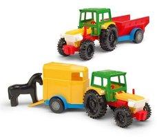 Traktor s přívěsem WADER