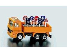 SIKU Super - Nákladní vozidlo s dopravní zanačkami