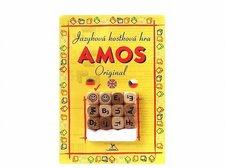 """AMOS jazyková hra """"německé"""" - malé kostky - blistr"""