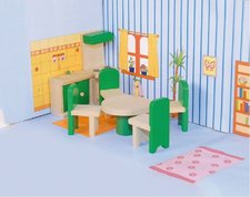Woody Nábytek do domečku Kuchyň s jídelnou