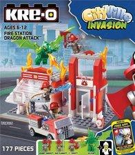 Hasbro KRE-O City ville stavebnice - požární stanice