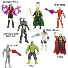 Avengers - 10 CM ALL STAR AKČNÍ FIGURKA