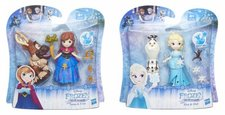 Disney Frozen  malá panenka s kamarádem 2 druhy
