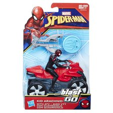 SPD 15 cm Spiderman na čtyřkolce