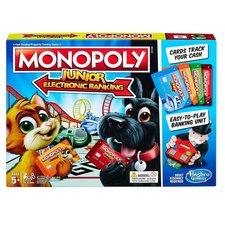 Hasbro Hry Monopoly Junior Elektronické bankovnictví