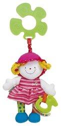 K´s Kids - Veselá panenka s úchytem na kočárek - JULIA