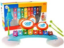 Huile Toys Dětský xylofon s bubínky