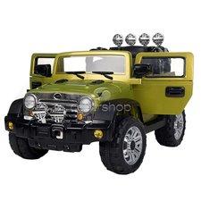 Dimix Elektrický Džíp Reback, 2 motory, R/C 2,4GHz, pérování, ovládací panel, EVA kola