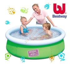 Dětský bazén BestWay 152 x 38cm - zelený