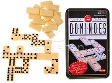 Domino v plechové krabičce