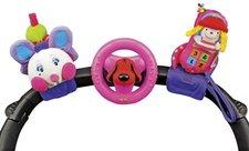 K´s Kids - 3 veselé hračky na přichycení suchým zipem pastelové barvy