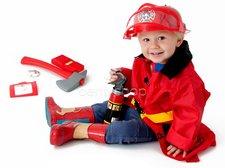 Oblek pro malého hasiče
