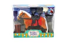MAC TOYS Kůň 18 cm s příslušenstvím