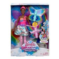 Mattel Barbie LÉTAJÍCÍ VÍLA S KŘÍDLY ČERNOŠKA