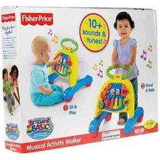 Hudební chodítko 2v1 Fisher Price Mattel V3254