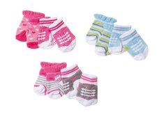 Zapf BB Ponožky (2 páry), 3 druhy