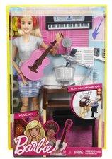 Mattel Barbie MUZIKANTKA BLONDÝNKA