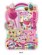 Mac Toys Zápisníček s doplňky - Sweet