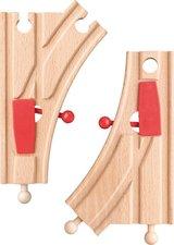 """Woody Výhybky """"K"""", dřevo/plast"""