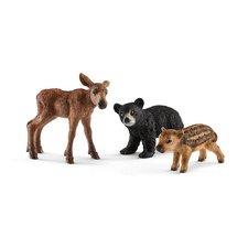 SCHLEICH Set mláďata lesních zvířátek