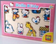 SES Hello Kity-dřevěné puzzle