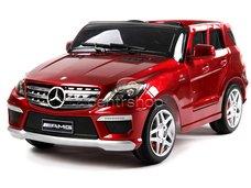 Elektrické auto Mercedes ML63 červené lakované