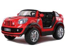 Elektrické auto Mini Cooper 2 motory - červené