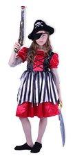 Karnevalový kostým pirátka, velikost S