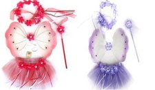 Karnevalový kostým - květinka 4 ks, 2 druhy